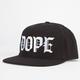 DOPE Mob Mens Tie Back Hat