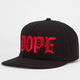 DOPE Mob Mens Tie Back Hat