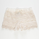 FULL TILT Girls Crochet Shorts