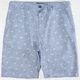 VALOR Channel Bird Print Mens Shorts