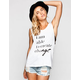 ELEMENT Kind Campaign Change Womens Muscle Tank
