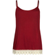 FULL TILT Essential Girls Crochet Trim Cami