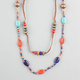 FULL TILT Seed Beaded Long Necklace