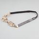 FULL TILT Metal Leaf Headband