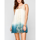 BLU PEPPER Dip Dye Tunic Dress