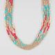 FULL TILT 7 Row Seed Bead Necklace