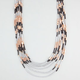 FULL TILT 7 Row Seed Bead Necklace