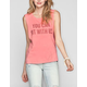 ELEMENT Kind Campaign Sit With Us Womens Muscle Tank
