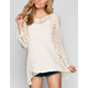 BLU PEPPER Lace Womens Tunic