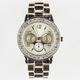 Gold Metal Rhinestone Watch