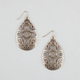 FULL TILT Tribal Teardrop Earrings