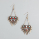 FULL TILT Tribal Spikes A-Wire Earrings