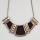 FULL TILT Pyramid Ethnic Drop Statement Necklace