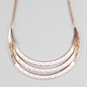 FULL TILT Ethnic Crescent Necklace