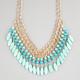 FULL TILT Beaded Chain Dangle Necklace