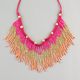 FULL TILT Seed Bead Fringe Necklace