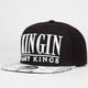 LAST KINGS Kingin Familia Mens Snapback Hat