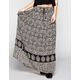 FULL TILT Gauze Maxi Skirt