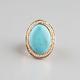 FULL TILT Oval Stone Ring