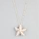 FULL TILT Rhinestone Bead Starfish Necklace
