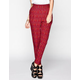 FULL TILT  Ethnic Print Yoke Womens Skinny Pants