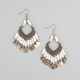 FULL TILT Filagree Beaded Earrings