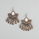 FULL TILT Aztec Feather Earrings