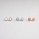 FULL TILT 3 Pairs Stone Earrings