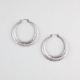 FULL TILT Ethnic Hoop Earrings