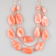 FULL TILT Large Marble Stone Necklace