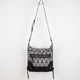 Medallion/Skull Print Crossbody Bag