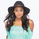 Belt Band Womens Straw Panama Hat