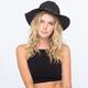 Stud Band Womens Straw Panama Hat