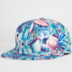 Tropic Floral Womens Snapback Hat