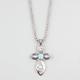 FULL TILT Turquoise Cross Necklace