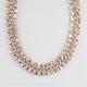 FULL TILT Rhinestone Chain Necklace