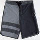 HURLEY Phantom Block Party Tonal Mens Boardshorts