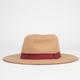 Color Brim Womens Panama Hat