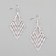 FULL TILT Diamond Dust Chevron Earrings