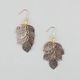 FULL TILT Textured Leaf Cluster Earings