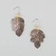 FULL TILT Textured Leaf Cluster Earings