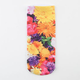 Floral Womens Ankle Socks