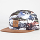 LRG Motherland Camo Mens 5 Panel Hat