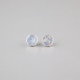 FULL TILT Hologram Glitter Button Stud Earrings