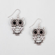 FULL TILT Rhinestone Owl Earrings