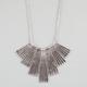 FULL TILT Textured Stick Statement Necklace