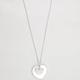 FULL TILT Epoxy Heart Necklace