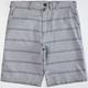 SUBCULTURE Stripe Mens Shorts