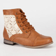 SIMPLY PETALS Cablee Girls Boots