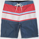 QUIKSILVER Panel Stripe Mens Boardshorts
